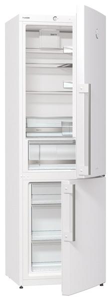 Gorenje RK 61 FSY2W White - (холодильник с морозильником, 319 л (клим.класс N, T), отдельно стоящий, компрессоров 1, камер 2, дверей 2. Хол-ник 223 л (разм. капельная система). Мор-ник 96 л, внизу (разм. ручное). ШГВ 60x64x185 см. Управление электромеханическое. Энергопотр-е класс A+ (308 кВтч/год). белый)