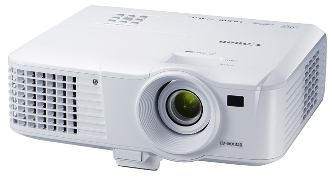 Canon LV-WX320 - (DLP, 1280x800, 3200 люмен, 10000:1, поддержка 3D: есть)