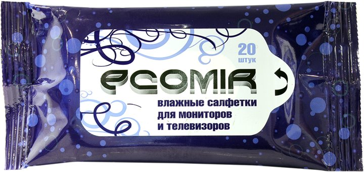 Чистящие салфетки Ecomir 24222