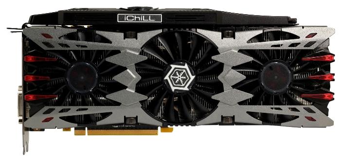 ���������� Inno3D GeForce GTX 980 1266Mhz PCI-E 3.0 4096Mb 7200Mhz 256 bit DVI HDMI HDCP C98U-1SDN-M5DNX