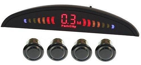 ParkCity Smart - (Экран светодиодный; точность 10 см; 4 датчика • Расстояние: 1,8 м … 0.3 м)