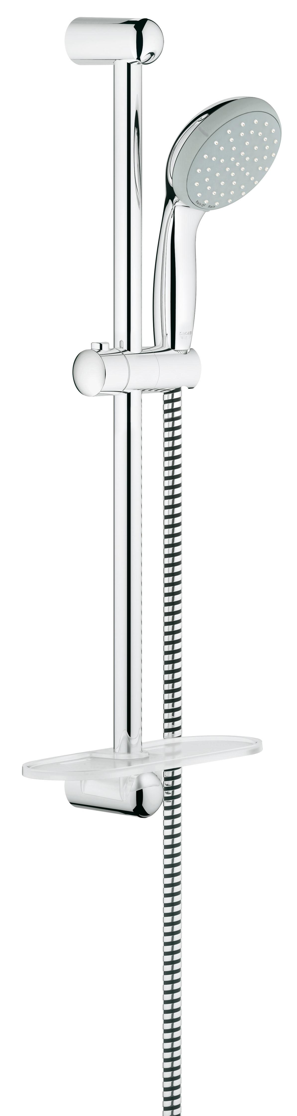 Grohe 27926000 Tempesta Classic (ручной душ, штанга 600 мм, шланг 1750 мм), хром