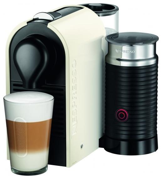 Krups XN 2601 Nespresso U & Milk (XN260110) Black ivory - эспрессо, автоматическое приготовление; кофе - капсулы; нагреватель - термоблок
