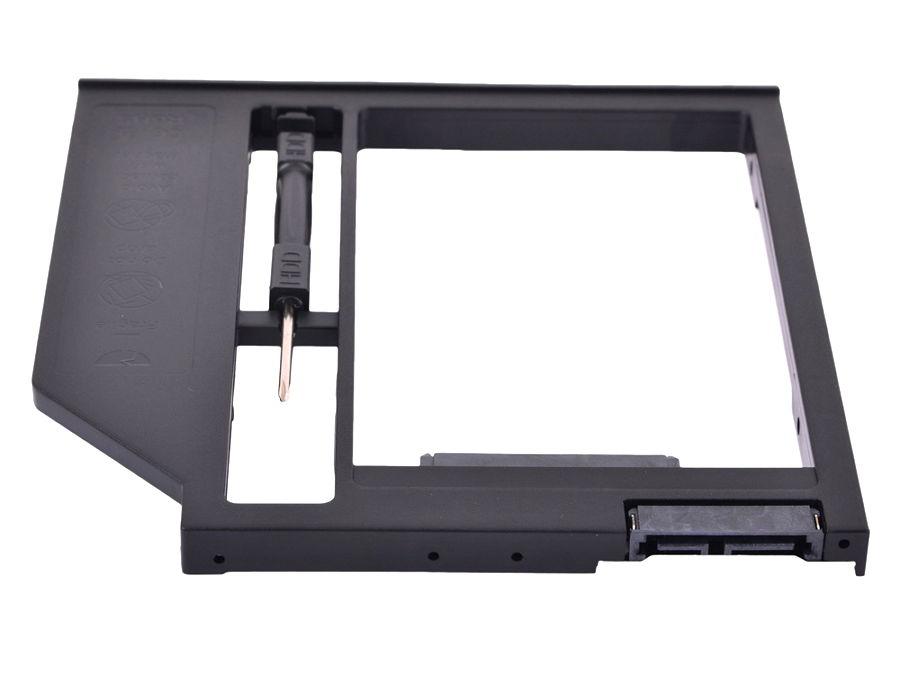 "Espada SS90 - внутр. SATA; внешн. slimline SATA; места для накопителей 1; формфактор 2.5"" • для установки устройства 2.5''в SlimDVD-отсек"