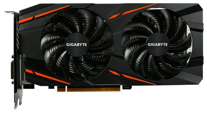 Видеокарта GIGABYTE Radeon RX 470 4096Mb GV-RX470G1 GAMING-4GD