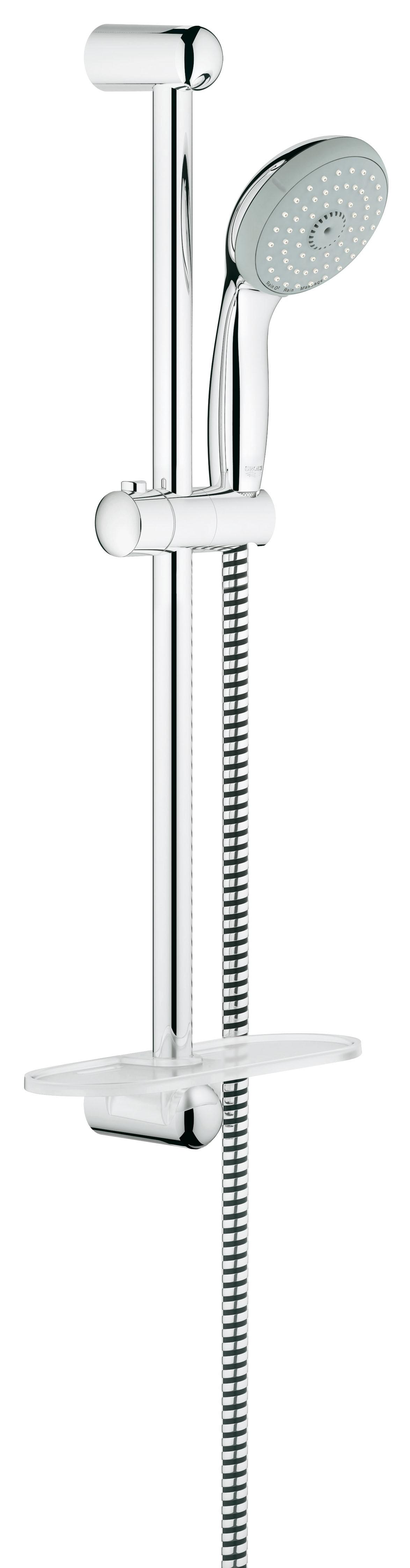 Grohe 27927000 Tempesta Classic (ручной душ, штанга 600 мм, шланг 1750 мм), хром