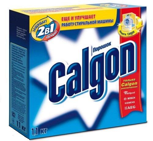 WM Calgon 2в1 1,1 кг - Средство от накипи; 1.1 кг; сыпучее • для стиральных машин