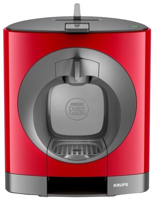 Dolce Gusto Krups Oblo KP110510 - эспрессо, автоматическое приготовление; кофе - капсулы; нагреватель - термоблок; резервуар 0.8 л