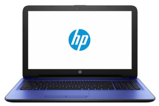 HP 15-ay513ur (Y6F67EA), Blue - (Intel Pentium N3710 1600 МГц. Экран 15.6 дюймов, 1366x768, широкоформатный. ОЗУ 4 Гб DDR3L 1600 МГц. Накопители HDD 500 Гб; DVD нет. GPU Intel HD Graphics 405. ОС Win 10 Home)