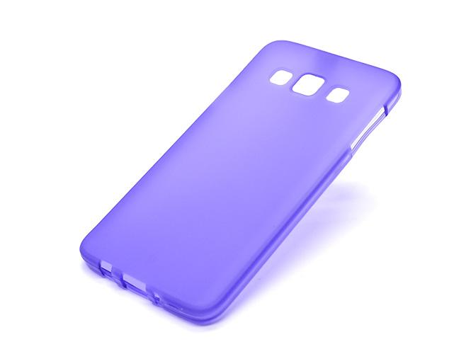 Чехол TPU для Samsung Galaxy A3, Purple