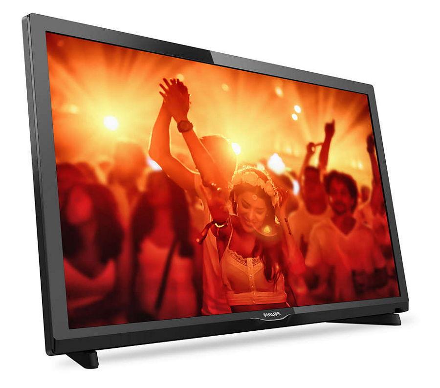 "Philips 22PFT4031/60 - (22"" (56 см); 1920x1080 (FullHD); 200 Гц • ; CI-слот есть • поддержка 3D нет; DVB-T есть; DVB-T2 есть; Smart TV нет)"