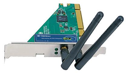 Wi-Fi адаптер TRENDnet TEW-643PI 802.11n
