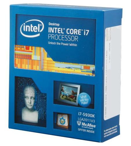 ��������� Intel Core i7-5930K Haswell-E (3500MHz, LGA2011-3, L3 15360Kb), BOX