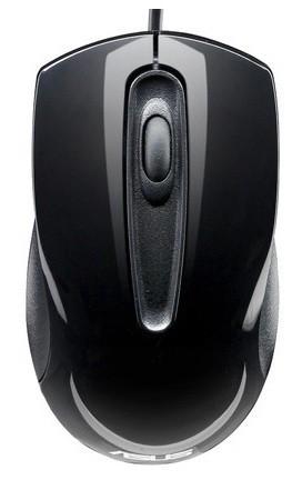 Мышь Asus UT200 черный 90-XB0L00MU00040- ASUS