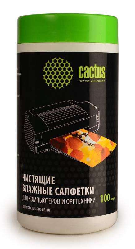 Чистящие салфетки Cactus CS-T1002
