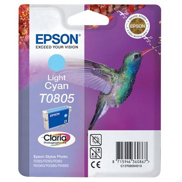 Картридж струйный Epson T0805 light-cyan C13T08054011