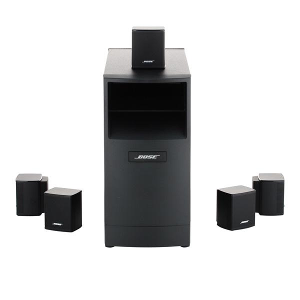 Bose Acoustimass 6 V, Black - активная; колонок 6; суммарно 200 Вт • x2x 20 Вт.x2x 20 Вт.x100 Вт. ACOUSTIMASS 6 V BLACK