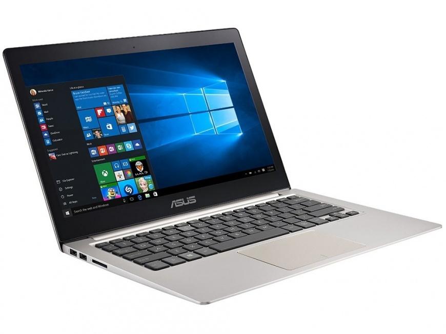 Asus UX303UA-R439T - (Intel Core i3 6100U 2300 МГц. Экран 13.3 дюймов, 1920x1080, широкоформатный. ОЗУ 4 Гб DDR3L 1600 МГц. Накопители SSD 128 Гб; DVD нет. GPU Intel HD Graphics 520. ОС Win 10 Home)