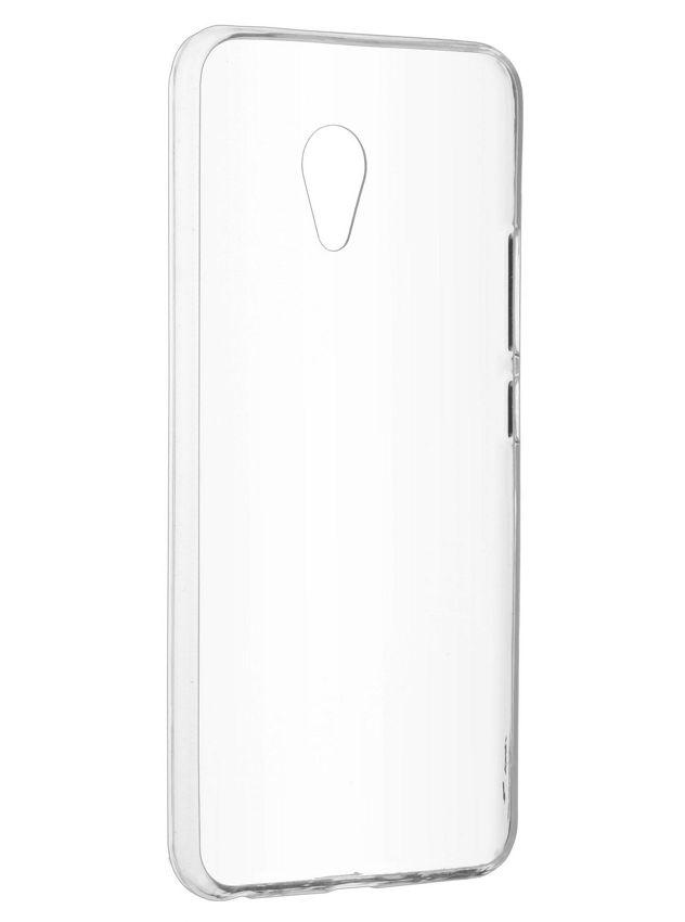 Чехол SkinBox 4Piople Slim T-S-MM5N-005 (для Meizu M5 Note), Clear