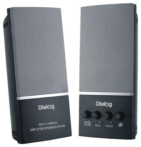 Колонки Dialog AM-12 black