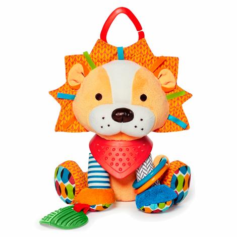 Skip Hop Bandana Pals - Lion - Развивающая игрушка-подвеска • для развития у ребёнка моторики рук