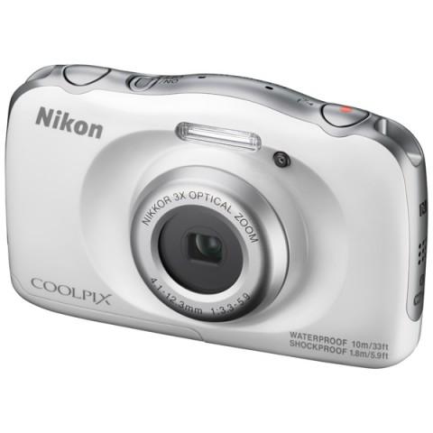Фотоаппарат Nikon Coolpix W100 white VQA010K001