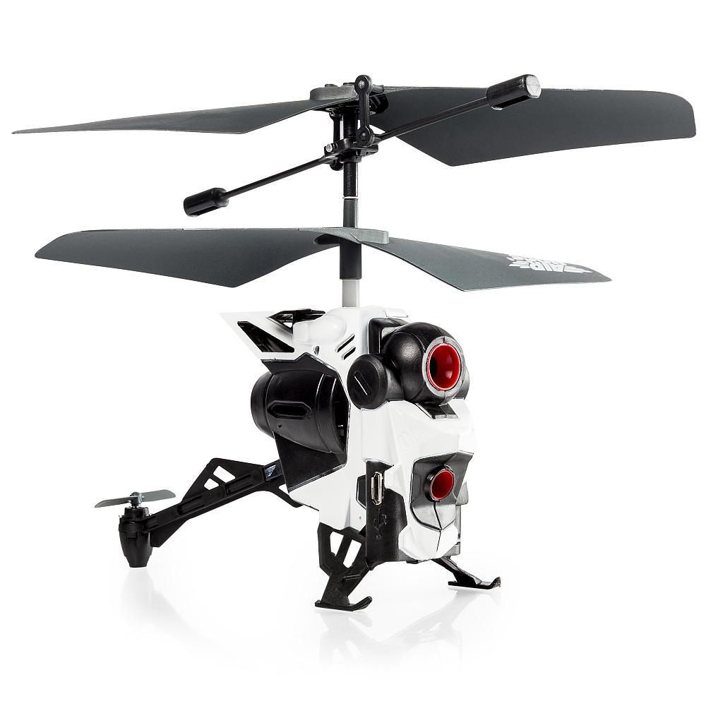 Радиоуправляемая игрушка Air Hogs Вертолёт с камерой, white / black