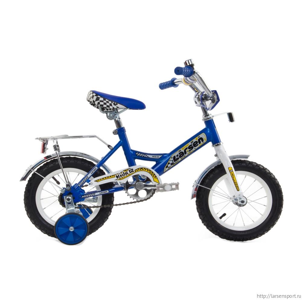 """Велосипед Larsen kids 12"""" (16,12"""") Коралловый"""