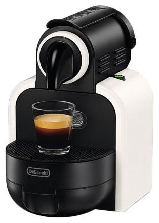 Nespresso De Longhi EN97.W (Без подарочных капсул) - эспрессо, автоматическое приготовление; кофе - капсулы; нагреватель - термоблок