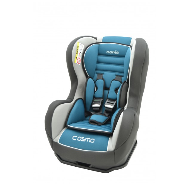 Nania Cosmo SP Isofix , grey with light blue