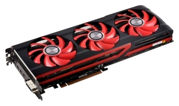 Фотография: Видеокарта XFX Radeon HD 7990 - PCI-E 3.0, 2 x AMD Radeon HD7990, 950 МГц