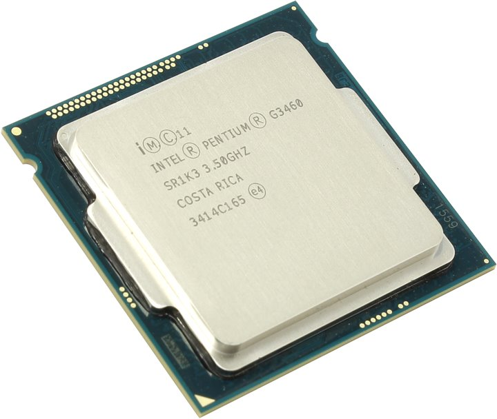 Процессор Intel Pentium G3460 Haswell (3500MHz, LGA1150, L3 3072Kb), OEM