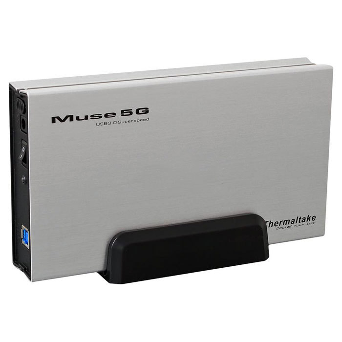 "Thermaltake Muse 5G 3.5"" USB3.0 External Hard Drive Enclosure - 3.5"" ST0042Е"