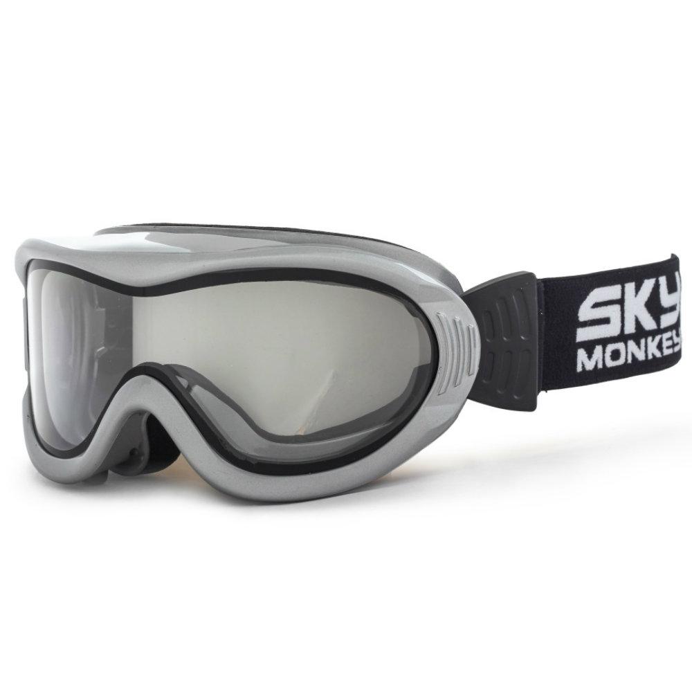 Очки горнолыжные Sky Monkey SR20 TR (VSE06) серебро N/S