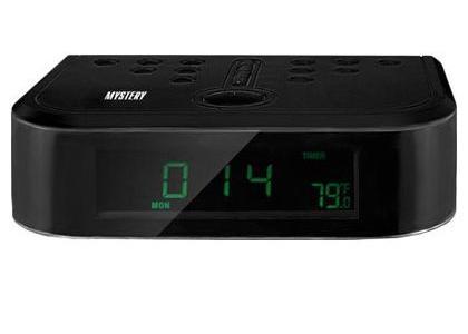 Радиобудильник Mystery MCR-66, black MCR-66 черный