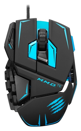 Мышь Mad Catz M.M.O. TE Gaming Mouse Black USB R20-MCB437140002