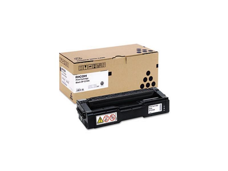 Картридж лазерный Ricoh SP C310E black 407638