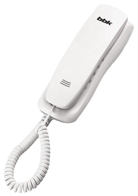 Проводной телефон BBK BKT-105 RU, White BKT-105 RU W