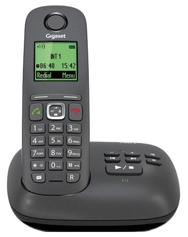 Радиотелефон DECT Gigaset A540A Black