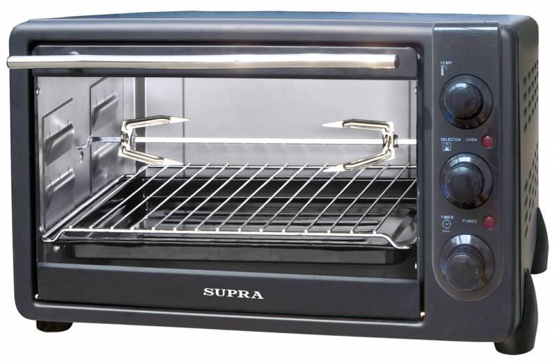 Микроволновая печь Supra MTS-340 34л. 1600Вт black MTS-340 черный