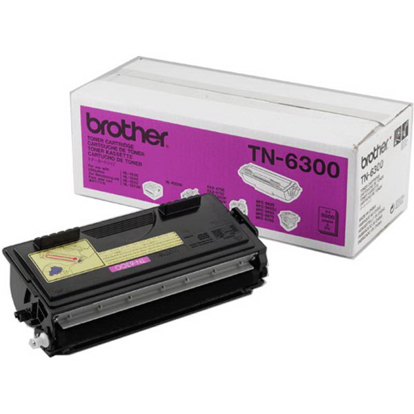 Brother TN-6300 - чёрный; на 3000 страниц • Brother HL-1030, HL-1230, HL-1240, HL-1250, HL-1270N, HL-1430, HL-1440, HL-1450, HL-1470N,