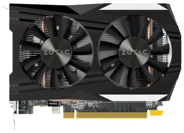 Видеокарта ZOTAC GeForce GTX 1050 Ti 4096Mb OC Edition ZT-P10510B-10L