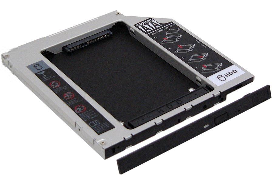"""Espada SS95 - mini SATA (7 + 6 pin); SlimDVD • Мест для накопителей - 1 (SATA, 2.5"""")"""