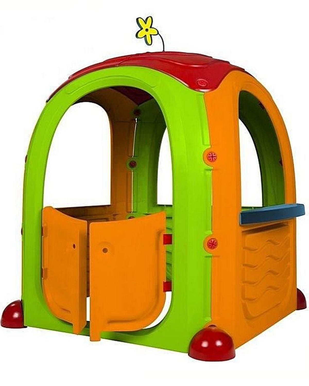 Игровой домик Paradiso orange-green-red