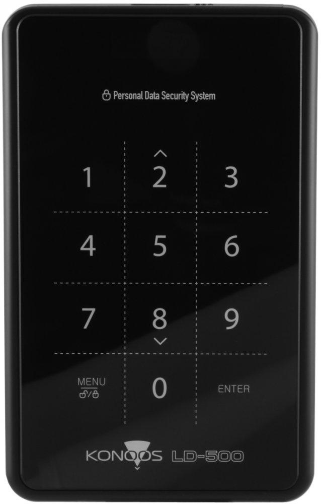 Корпус для жесткого диска Konoos LD-500, black
