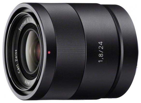 Sony Carl Zeiss Sonnar T*24mm f/1.8 ZA E (SEL-24F18Z) - (широкоугольный; ФР 24 мм; F1.80 • Автофокус есть. • Неполнокадровый да)