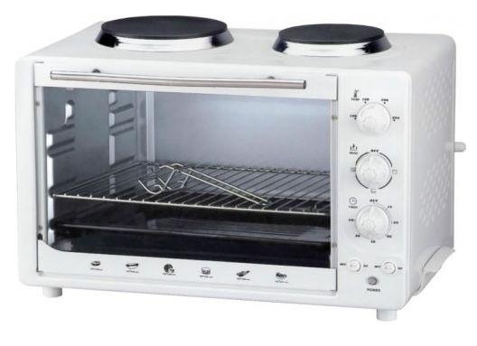 Мини-печь плита Redber EO-4350 White
