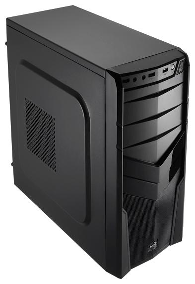 "AeroCool V2X Black Edition 600W, Black - Midi-Tower • ATX, mATX, Mini-ITX • БП 600 Вт • Отсеки: 5.25""-4, 3.5""(внутр)-2;"