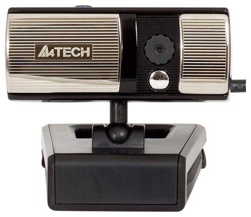 A4Tech PK-720G black - 640x480; 0.3 млн пикс., CMOS; микрофон встроенный; фокусировка автоматическая; USB 2.0 PK-720G (GLOSSY BLACK)