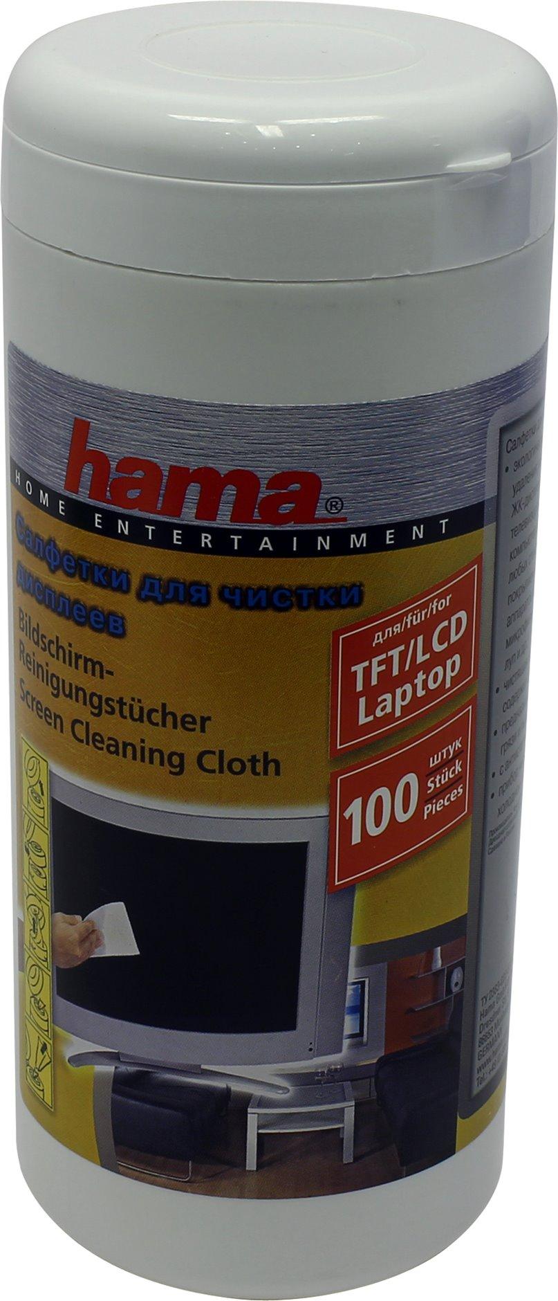 Чистящие салфетки Hama R1095850 (100 шт)